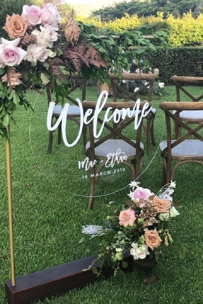 Привітання гостей на весілля